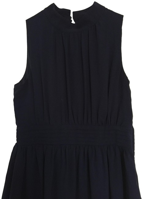 Item - Navy Blue Fit & Flare Mid-length Cocktail Dress Size 8 (M)