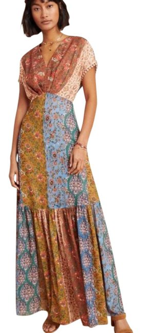 Item - Multicolor Anthropologie Angelica Long Formal Dress Size 4 (S)
