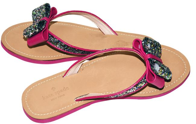 Item - Hot Pink Icarda Thong Sandals Size US 7.5 Regular (M, B)