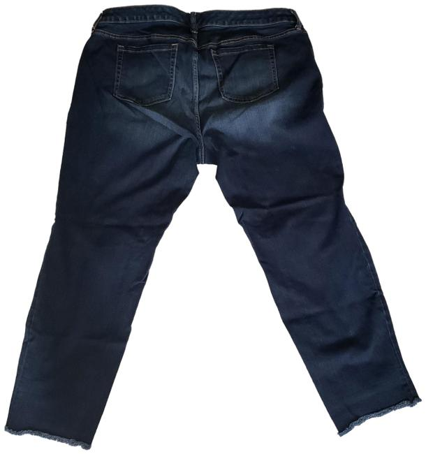 Item - Blue Medium Wash / Capri/Cropped Jeans Size 18 (XL, Plus 0x)