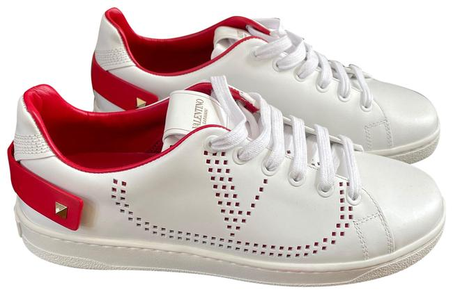 Item - White Garavani Rockstud Trainer Sneakers Size EU 38.5 (Approx. US 8.5) Regular (M, B)