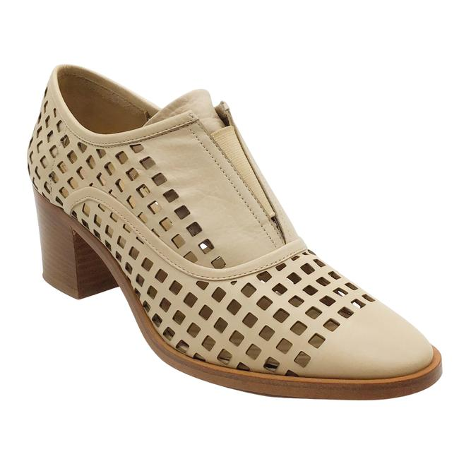 Item - Nude Perforated Oxfords Boots/Booties Size EU 38 (Approx. US 8) Regular (M, B)