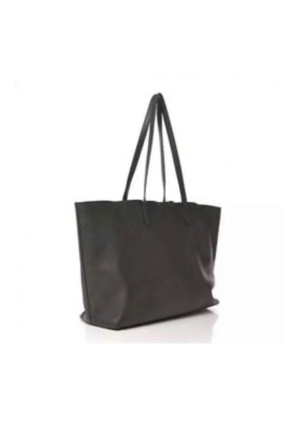 Item - East West Shopper Gray Leather Tote