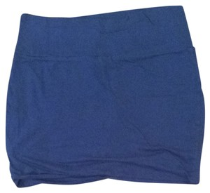 Wet Seal Skirt Royal Blue
