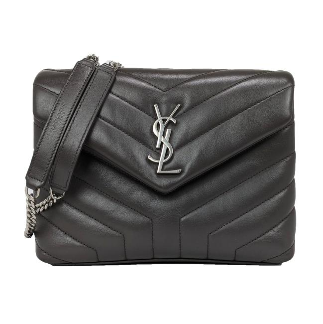 Item - Monogram Loulou Crossbody Small Quilted Gray Leather Shoulder Bag
