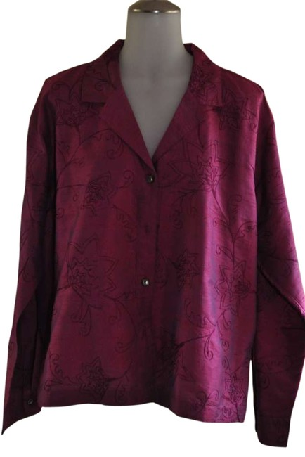Preload https://item4.tradesy.com/images/chico-s-fuschia-with-irridescent-shimmer-blouse-size-12-l-288258-0-0.jpg?width=400&height=650