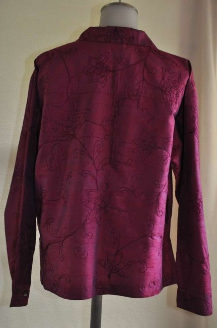 Chico's Top Fuschia with Irridescent shimmer