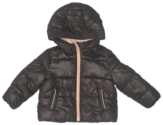 Item - Black Puffer Snow Jacket 18m Maternity Activewear Size OS (one size)
