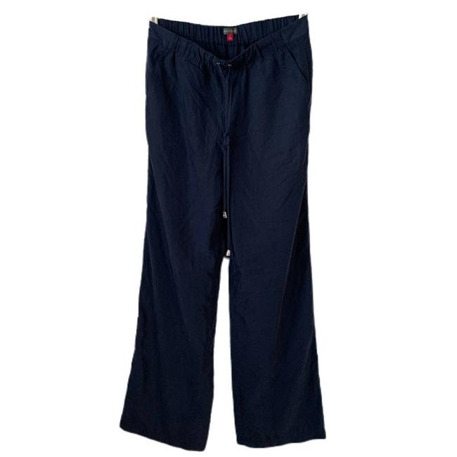Item - Blue Wide Leg Drawstring Lounge Pants Size 4 (S, 27)