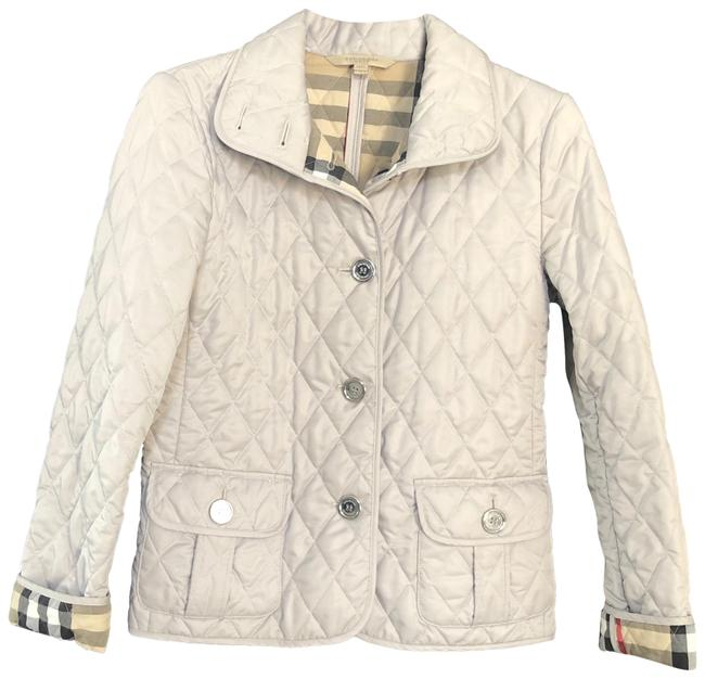 Item - Gray Quilted Small Jacket Size 6 (S)