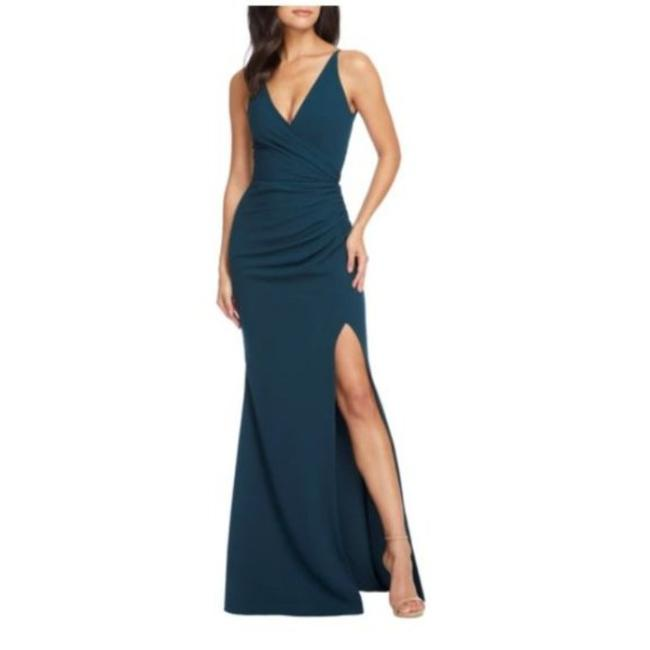 Item - Green Jordan Evening Long Formal Dress Size 0 (XS)