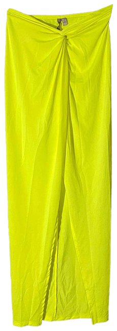 Item - Bright Yellow Tie Knot Maxi Wrap Cover-up/Sarong Size 0 (XS)
