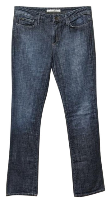 Item - Blue Dark Rinse Unknown Boot Cut Jeans Size 30 (6, M)