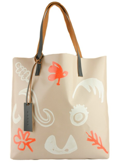 Item - Shopping Double Handle Large Multiple Leather Pvc Polyester Tote