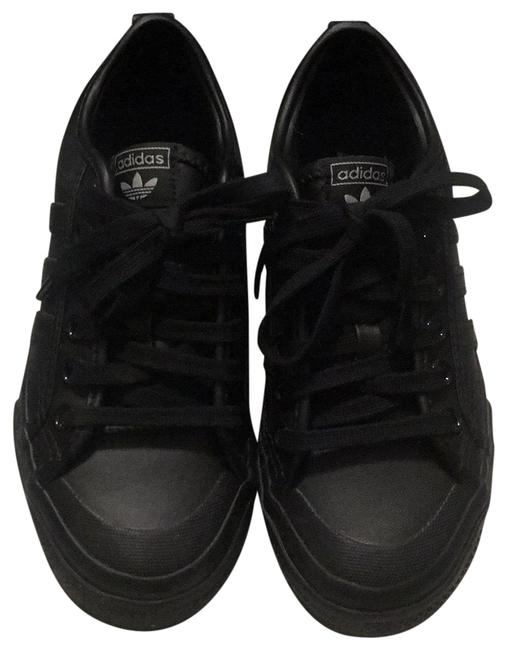 Item - Black Nizza Sneakers Size US 5 Regular (M, B)