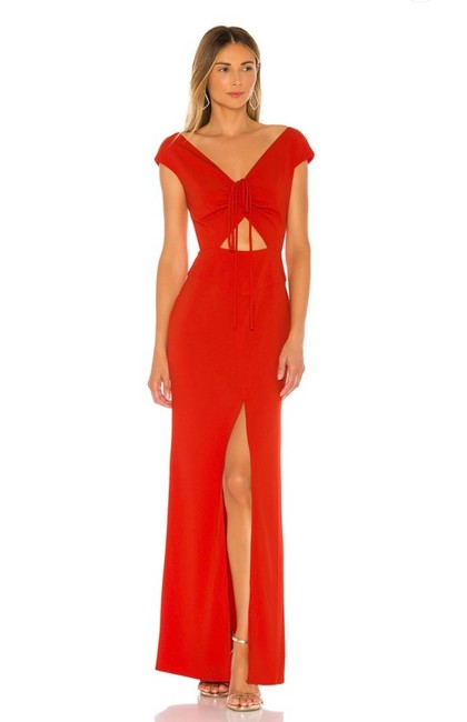Item - Flame Scarlet (Red) Camila Gown In Long Formal Dress Size 6 (S)