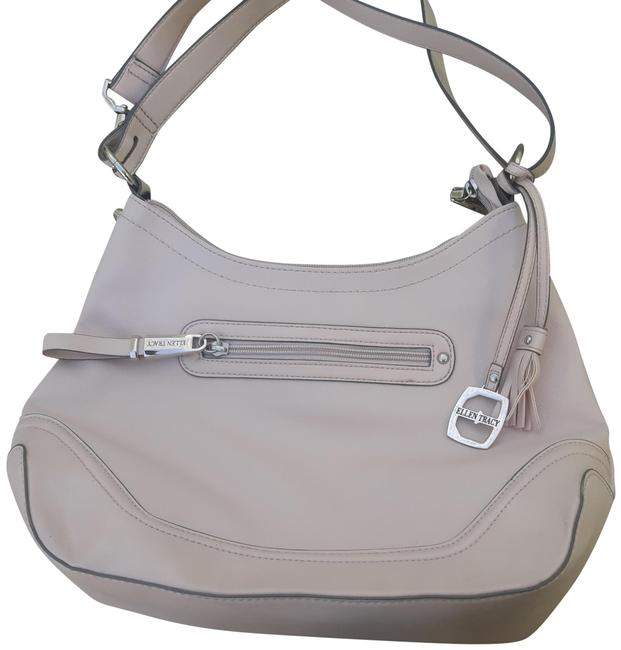 Item - Creme Designer White Faux Leather Shoulder Bag