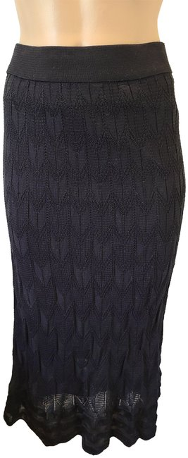 Item - Black Cotton Blend with Scalloped Skirt Size 6 (S, 28)