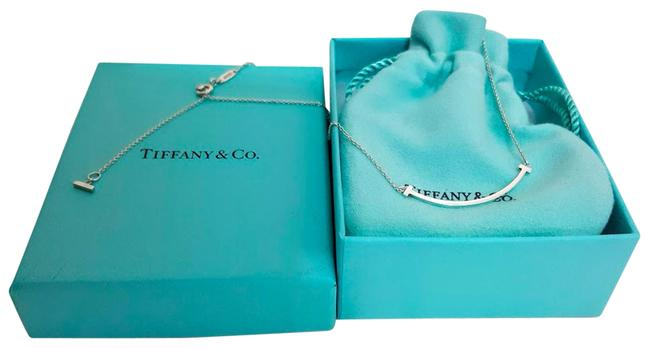 """Item - Silver T Smile Small 925 Sterling Adjustable Chain 16"""" 18"""" Necklace"""