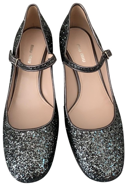 Item - Silver Ardesia Mary Jane with Angle Strap Pumps Size EU 41 (Approx. US 11) Regular (M, B)