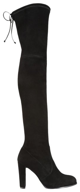 Item - Black Highland Over-the-knee Suede Boots/Booties Size US 9 Regular (M, B)