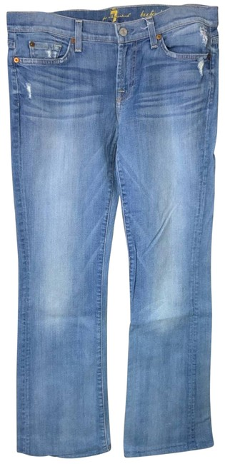 Item - Blue Light Wash Bootcut Straight Leg Jeans Size 29 (6, M)