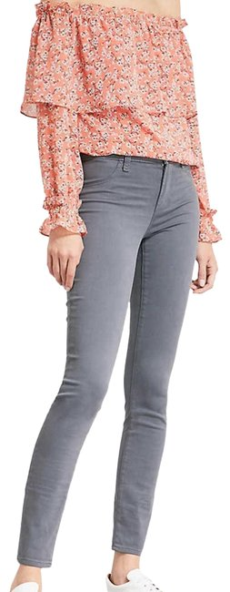Item - Gray Mid-rise Super Skinny Jeans Size 27 (4, S)