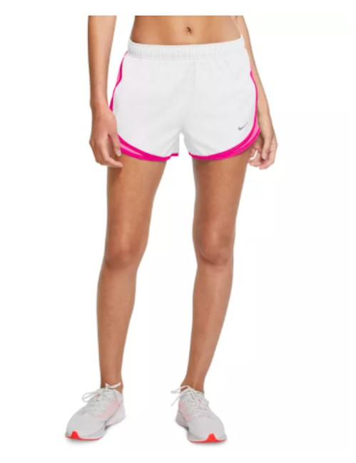 Item - White/Pink Tempo Running Women's Lined Activewear Bottoms Size 8 (M, 29, 30)