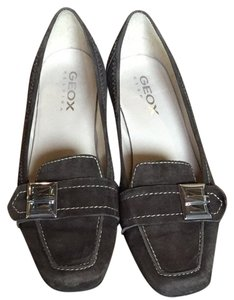 Geox Soft Dark Brown Flats