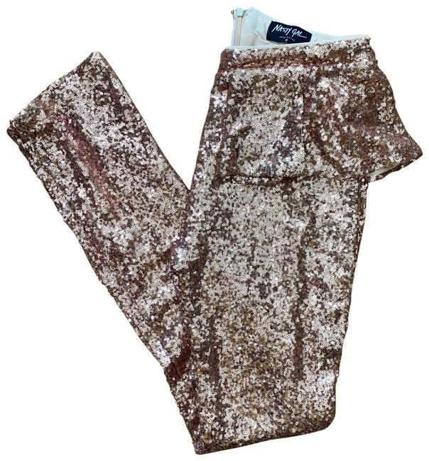 Item - Rose Gold Sequence Pants Size 6 (S, 28)