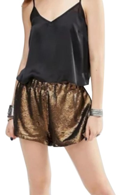 Item - Bronze Gold Time To Shine Shorts Size 6 (S, 28)