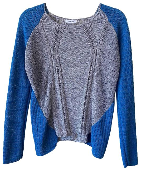 Item - Blue/Gray Knit Blue Sweater