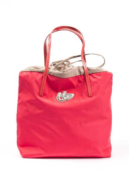 Item - Coral Handbag As Shown In Images Fabric Weekend/Travel Bag