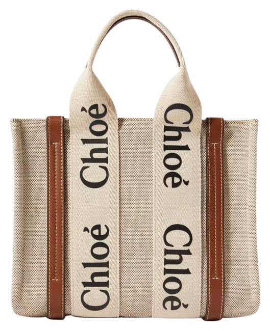 Item - Woody Small Logo Canvas Tote