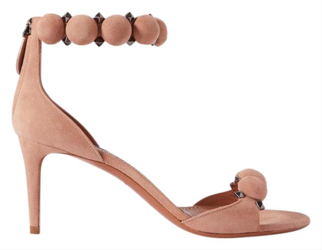 Item - Bombe 75 Studded Suede Leather Heels Sandals Size EU 38.5 (Approx. US 8.5) Regular (M, B)