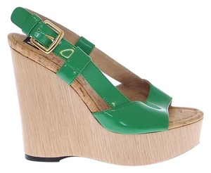 Dolce & Gabbana Green Wedges
