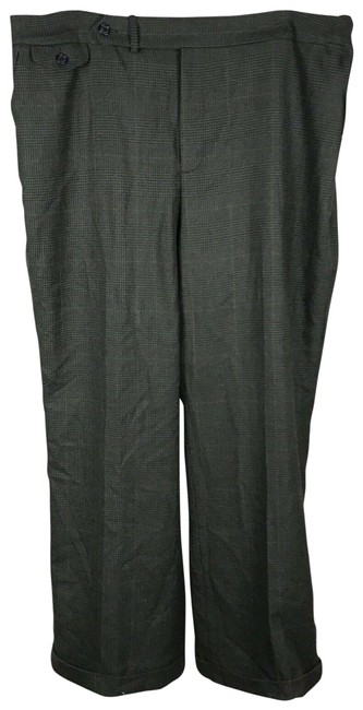 Item - Black and White Houndstooth Pants Size 16 (XL, Plus 0x)