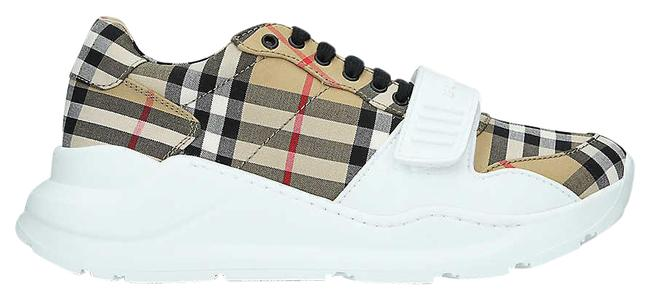 Item - Yellow Regis Checked Canvas and Rubber Trainers Sneakers Size EU 35 (Approx. US 5) Regular (M, B)