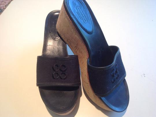 Other Coach Black Wedges Image 4