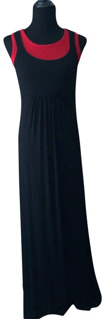 Item - Black Rn 54163 Long Casual Maxi Dress Size 6 (S)