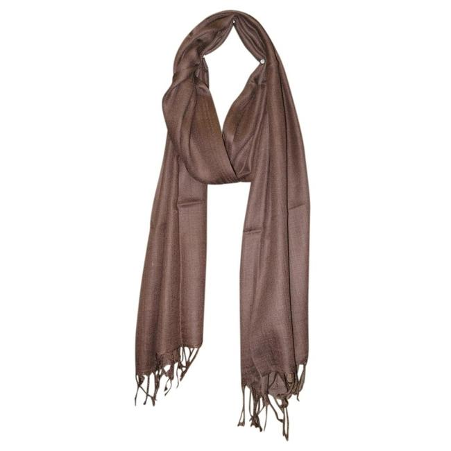 Item - Walnut Fringe Scarf/Wrap