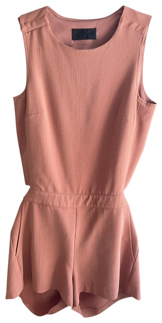 Item - Pink Cross Back Size Small Romper/Jumpsuit