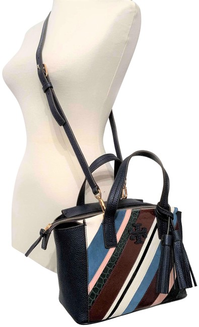 Item - Crossbody Thea Pieced Slouchy Multicolor Leather Satchel