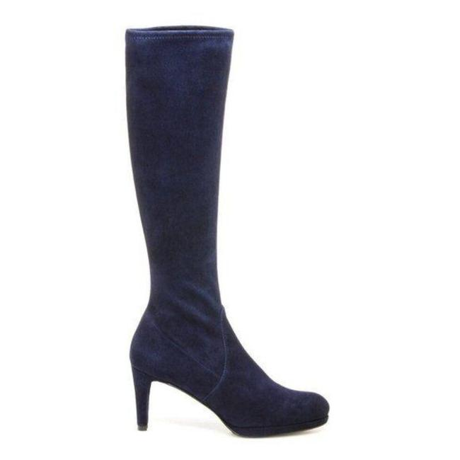 Item - Blue Jefemid Stretch Sock Boots/Booties Size US 8.5 Narrow (Aa, N)