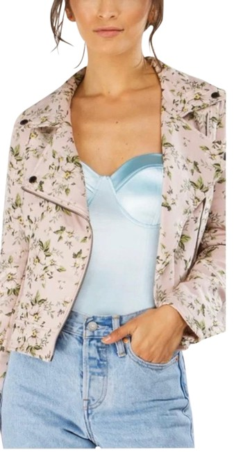 Item - Pink Lacquer Moto Jacket Size 2 (XS)