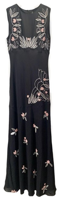 Item - Black Sleeveless Long Formal Dress Size 0 (XS)