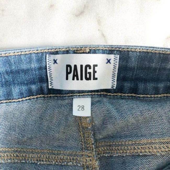 Paige Blue Distressed Kylie Crop Skinny Jeans Size 28 (4, S) Paige Blue Distressed Kylie Crop Skinny Jeans Size 28 (4, S) Image 6
