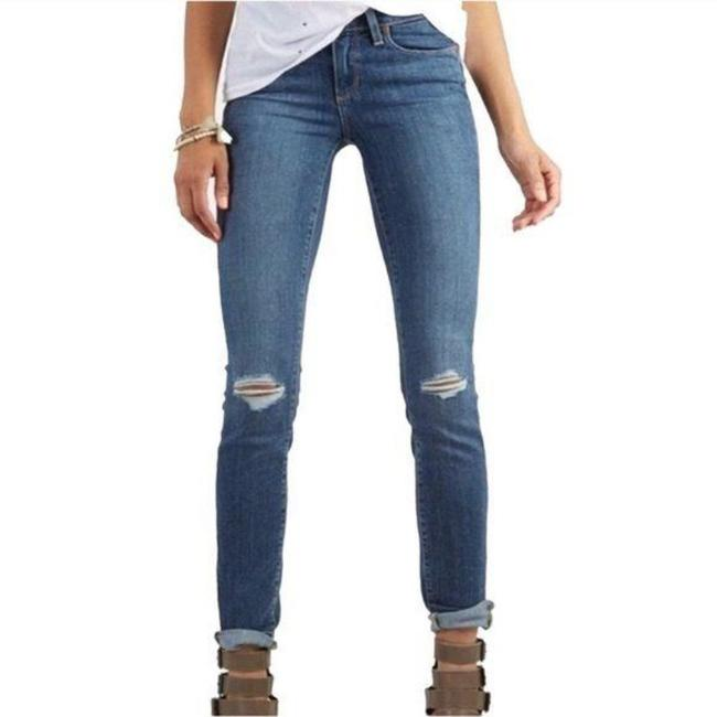 Paige Blue Distressed Kylie Crop Skinny Jeans Size 28 (4, S) Paige Blue Distressed Kylie Crop Skinny Jeans Size 28 (4, S) Image 10