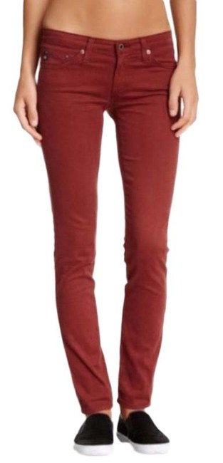 Item - Red The Stilt Corduroy Cigarette Leg Pants Size 2 (XS, 26)
