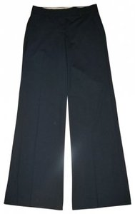 Theory Wide Leg Pants Navy Blue